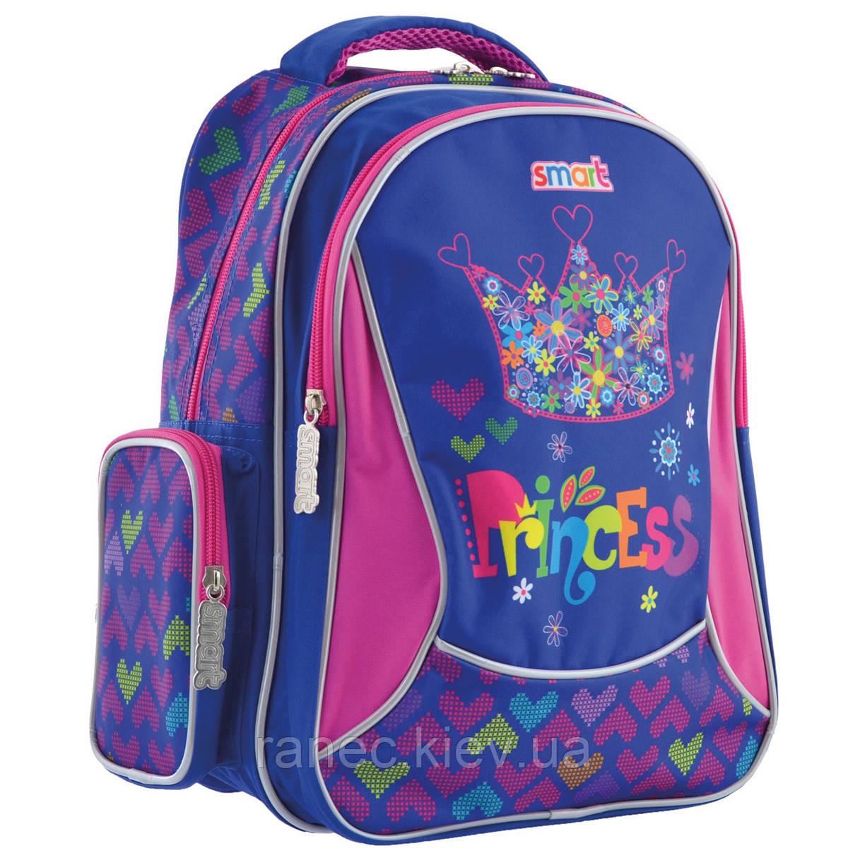 Рюкзак школьный ZZ-02 Cool Princess 556809 Smart