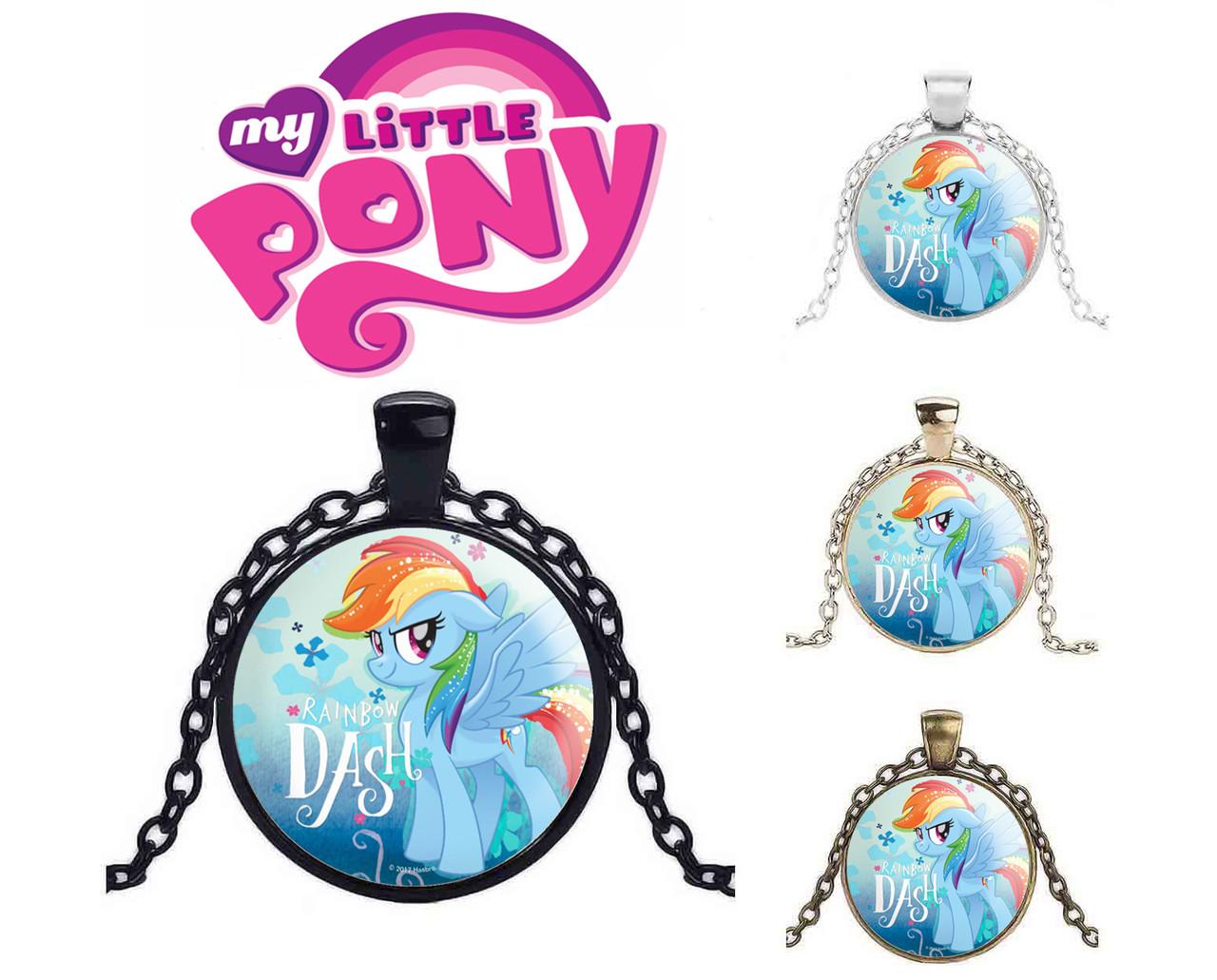 Подвеска My Little Pony с персонажем Реинбоу Деш