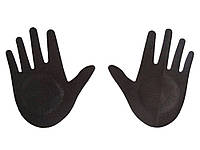 Наклейки на соски Руки  Чорний