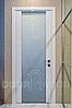 Межкомнатные двери Белый глянец Stick 1.2.1, фото 7