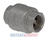 Обратный клапан никелированный 1 1/4 ВВ