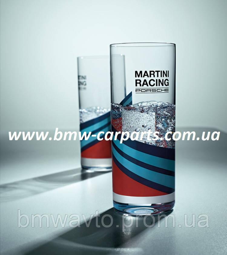 Набор из двух стеклянных стаканов Porsche - MARTINI RACING 2019