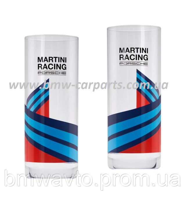 Набор из двух стеклянных стаканов Porsche - MARTINI RACING 2019, фото 2