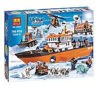 """Конструктор Bela 10443 (Аналог Lego City 60062) """"Арктический ледокол""""760 деталей, фото 1"""