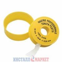 Лента тефлоновая ФУМ Profi 19 мм х 15 м х 0,2 мм