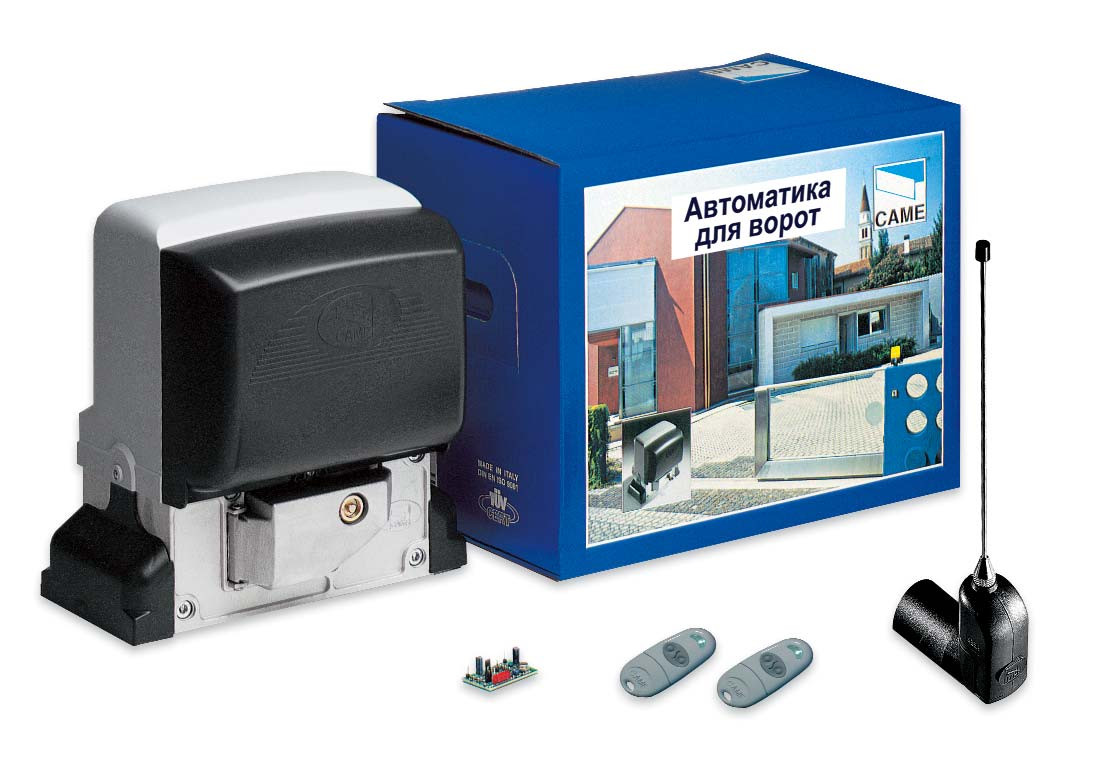 Комплект автоматики для сдвижных ворот Came BX-78(BX-B) на 800кг (Италия).
