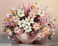 Картина цветы маслом в подарок