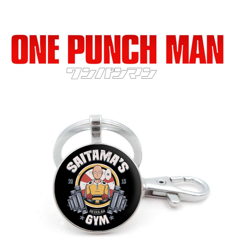 "Брелок One Punch-Man ""Saitama's GYM"""