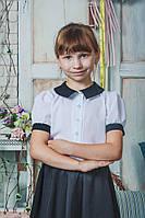 Блуза для девочки белая, фото 1