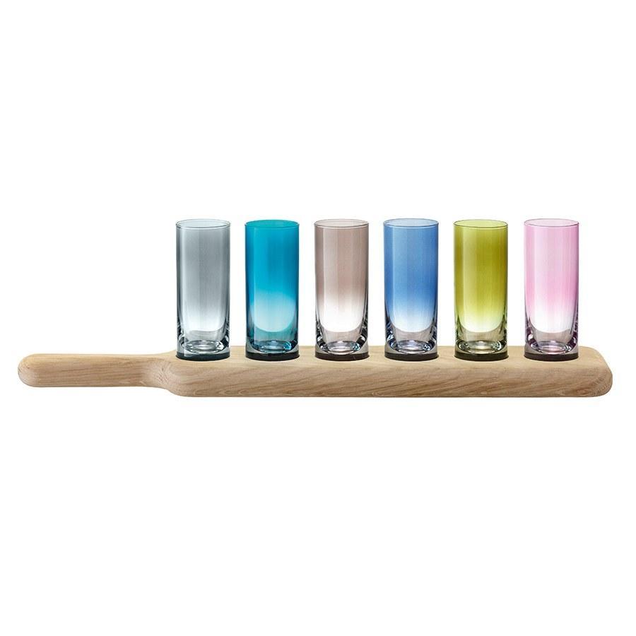 Набор рюмок для водки Paddle, цветные