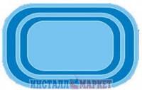 Бассейн Голубая лагуна- 4,00 х 2,80 м,глубина 1,50 м