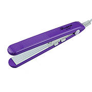 Мини-Утюжок Гофре для волос фиолетовый