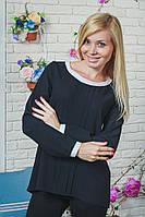 Блузка женская черная, фото 1