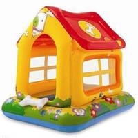 Игровой домик INTEX,,Любимая Собачка,, 57429 детский центр активных игр, яркие цвета