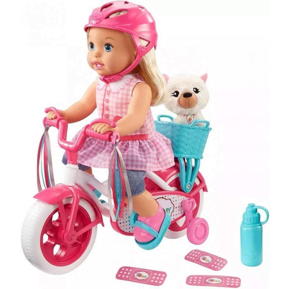 Кукла пупс Маленькая мама Научиться ездить Little Mommy Learn to Ride Baby Born
