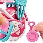 Кукла пупс Маленькая мама Научиться ездить Little Mommy Learn to Ride Baby Born, фото 10