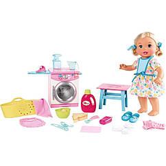 Кукла пупс Маленькая мама Обед & Прачечная Little Mommy Lunch & Laundry Baby  born