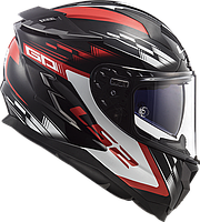 Мотошолом LS2 FF327 Challenger GP (червоний)