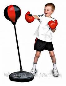 Детский боксерский набор. Боксерская груша и перчатки. Высота: 90-110 см. Profi MS 0331