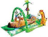 """Детский развивающий коврик """"Тропический лес"""". Музыкальные эффекты. Мягкие игрушки. BabyGift  3059, фото 3"""