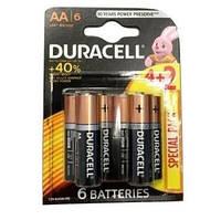 Батарейки Duracell AA  6 штук