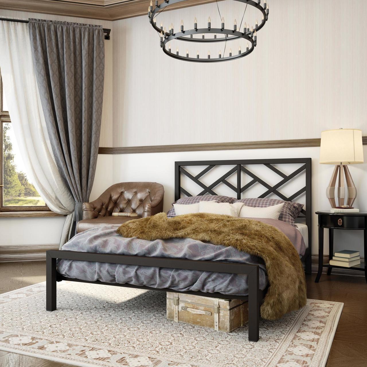 Кровать в стиле LOFT (Bed - 111)