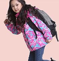 Куртка ветрозащитная на девочку Д 0897-И