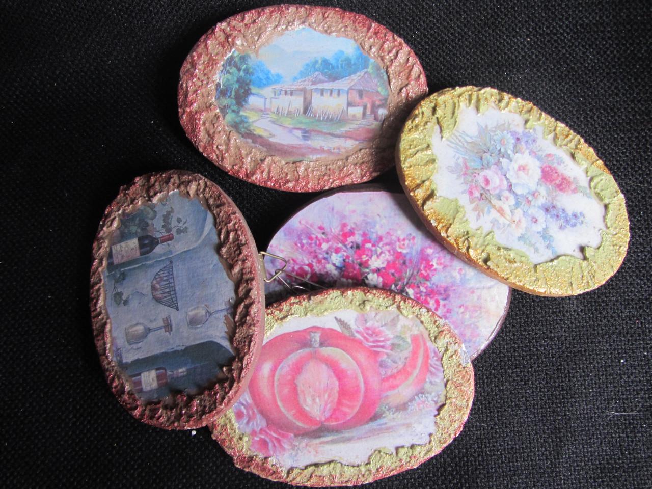 Картинки деревянные ручной работы (декупаж), 25\20 (цена за 1 шт.+5 грн)