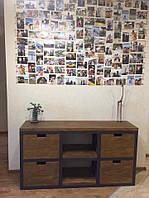 Тумба-подставка для TV в стиле LOFT (Stand - 078)