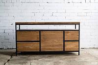 Обеденный стол в стиле LOFT (Stand - 084)