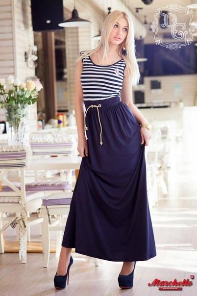 13a3350ebdc2075 Женское платье в пол