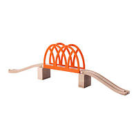Железнодорожный мост IKEA LILLABO игрушка 5 предметов Оранжевый (103.200.63)