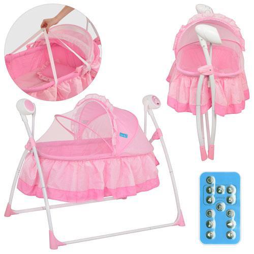 Кровать детская BAMBI M 2131-1 Розовая - Интернет-магазин Prima-Best.com в Одессе