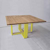 Кофейный Журнальный столик в стиле LOFT (Table - 820)
