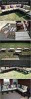 Набор садовой мебели в стиле LOFT (Pavilion - 18)