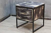Прикроватная тумба в стиле LOFT (Table - 368)