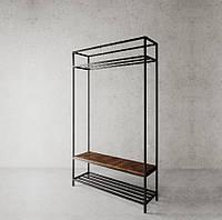 Стойка для одежды в стиле LOFT (Hanger - 76). Мебель в стиле лофт от производителя для дома, кафе, офиса