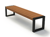 Скамейка парковая стиле LOFT (Street Bench - 45)