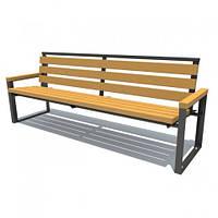 Скамейка парковая стиле LOFT (Street Bench - 49)