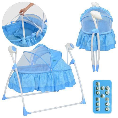 Кровать детская BAMBI M 2131-2 Голубая - Интернет-магазин Prima-Best.com в Одессе