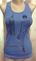 """Модная майка в рубчик """"London"""""""