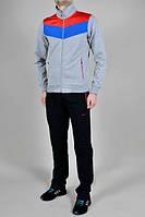 Спортивный костюм Nike, серый с цветными вставками, ф3081