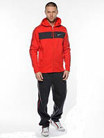 Спортивный костюм Nike, красный с черными штанами, ф3161