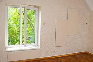 Основное электроотопление в 2-х комнатной квартире г. Львов, ул. Левинского