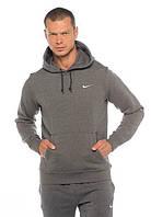 Теплый спортивный костюм, костюм на флисе Nike, темно-серый кенгуру, индонезия, ф3360