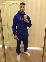 Теплый спортивный костюм, костюм на флисе Nike, синий, ф3380