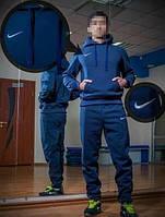 Спортивный костюм найк, синий цвет, ф3381