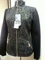 Куртка пиджак женская в стиле Roccobarocco твидовая