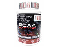 DL Nutrition BCAA Factor 250 g 25 serv.Аминокислоты