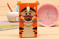 Чехол-бампер силиконовый Xiaomi Hongmi Redmi 1S Тигр
